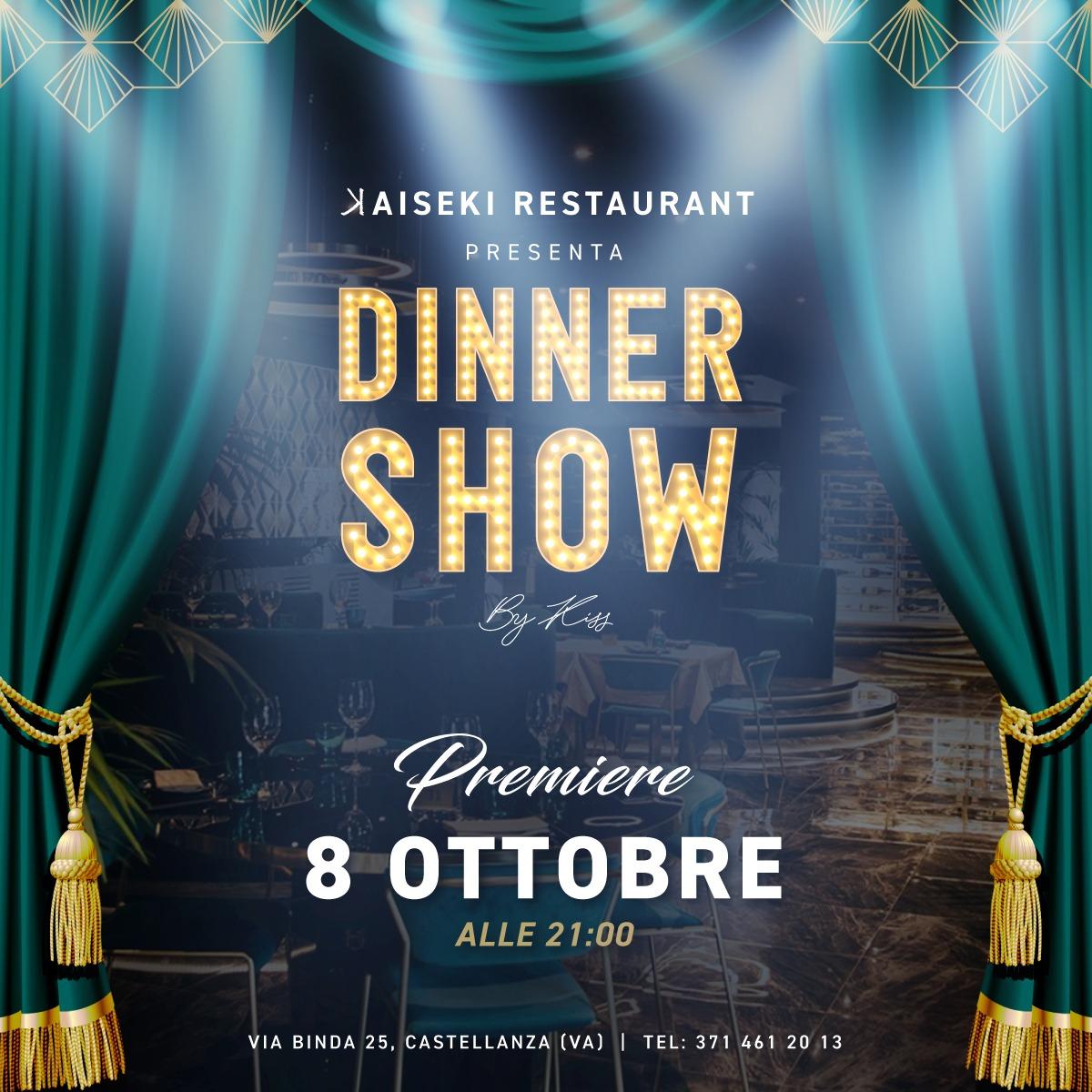 IL KAISEKI DINNER SHOW, L'EVENTO CHE TUTTI ASPETTAVANO!!!